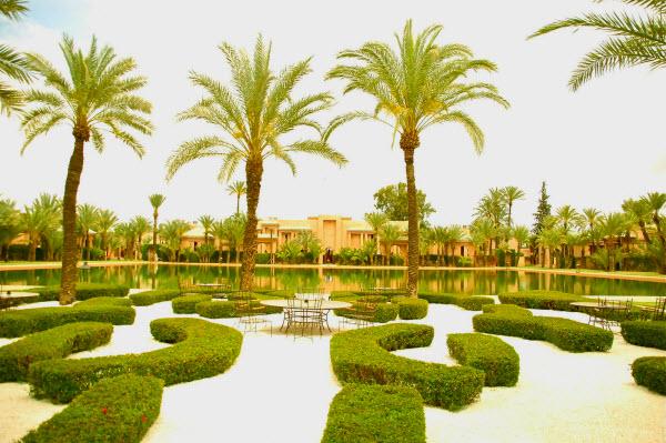 Hoteles lujo Marrakech Marruechos
