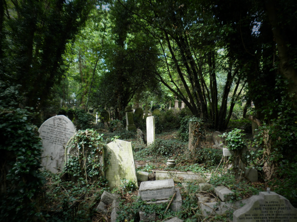 Cementerio de Highgate Londres viajes