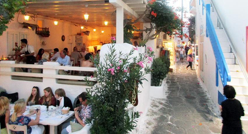 Tabernas griegas