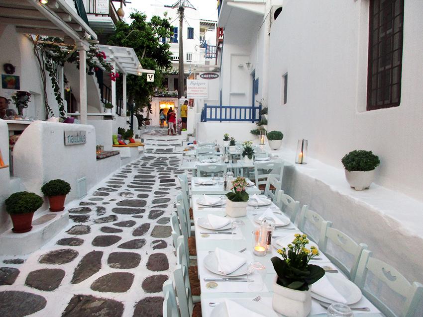 Grecia a través de sus tabernas